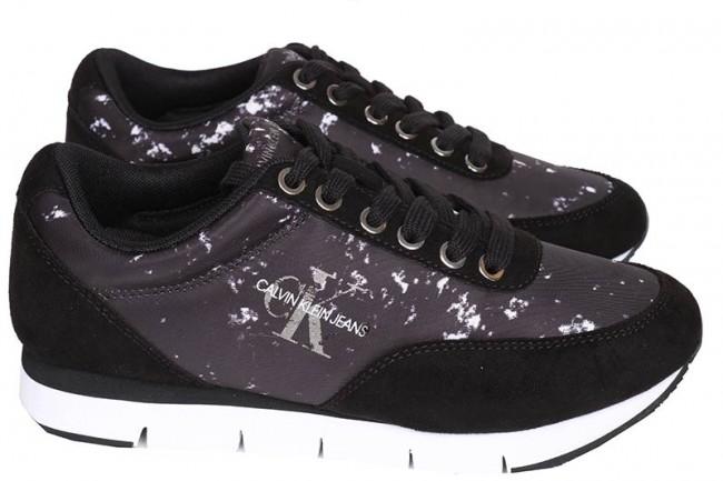 Calvin klein - heren sneakers zwart