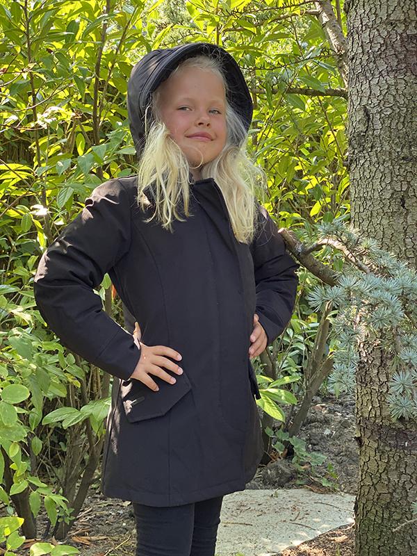 Airforce kinderjas zwart