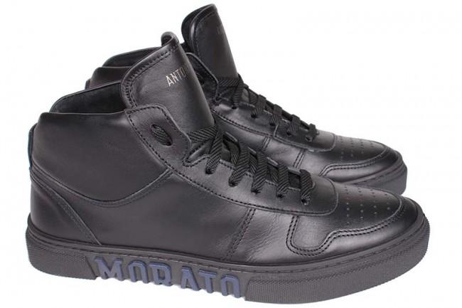 Antony Morato leren sneakers